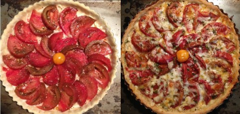 Martha's Enchanted Tomato Tart