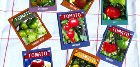 Tomato Trading Cards ~ Series No. 2